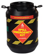 emergency spill kit drum