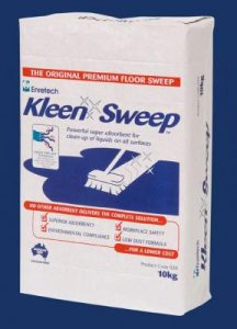 kleen sweep absorbent