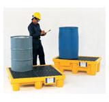 bunded spill pallets